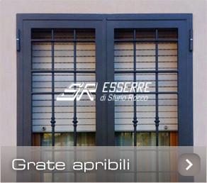 Grate e Inferriate « SR ESSERRE - Grate di sicurezza Perugia, Inferriate per finestre Umbria