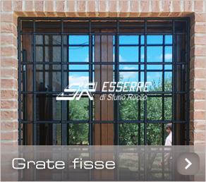 Grate e inferriate sr esserre grate di sicurezza perugia inferriate per finestre umbria - Grate finestre in ferro ...