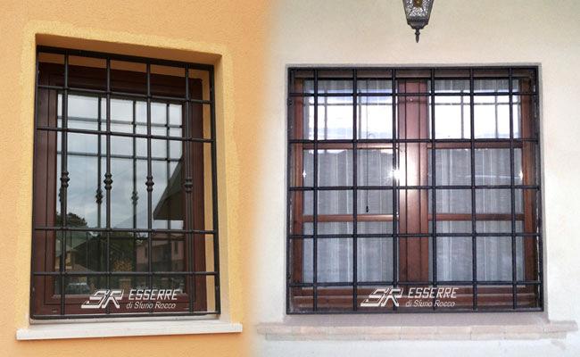 Grate e inferriate sr esserre grate di sicurezza perugia inferriate per finestre umbria - Disegni di grate per finestre ...